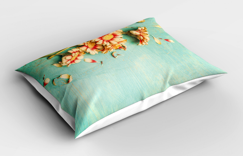 Shabby-Chic-Pillow-Sham-Decorative-Pillowcase-3-Sizes-Bedroom-Decor-Ambesonne thumbnail 25