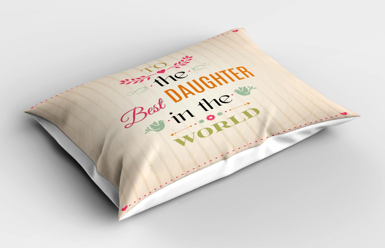Beige-Pillow-Sham-Decorative-Pillowcase-3-Sizes-Available-for-Bedroom-Decor thumbnail 11