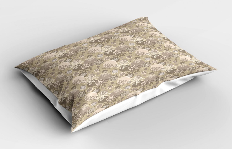 Beige-Pillow-Sham-Decorative-Pillowcase-3-Sizes-Available-for-Bedroom-Decor thumbnail 25