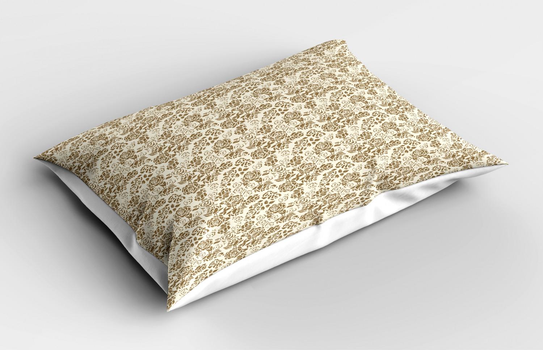 Beige-Pillow-Sham-Decorative-Pillowcase-3-Sizes-Available-for-Bedroom-Decor thumbnail 31