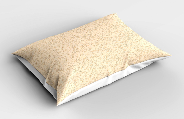 Beige-Funda-de-Almohada-Decoracion-Funda-De-Almohada-3-tamanos-disponibles-para-Dormitorio miniatura 23