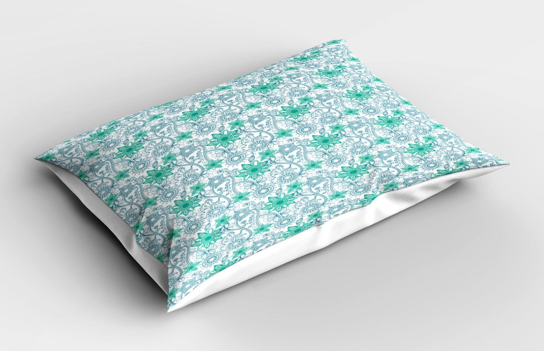 Turquoise-Pillow-Sham-Decorative-Pillowcase-3-Sizes-Bedroom-Decor-Ambesonne miniature 15