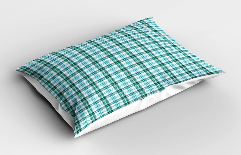 Turquoise-Pillow-Sham-Decorative-Pillowcase-3-Sizes-Bedroom-Decor-Ambesonne miniature 11