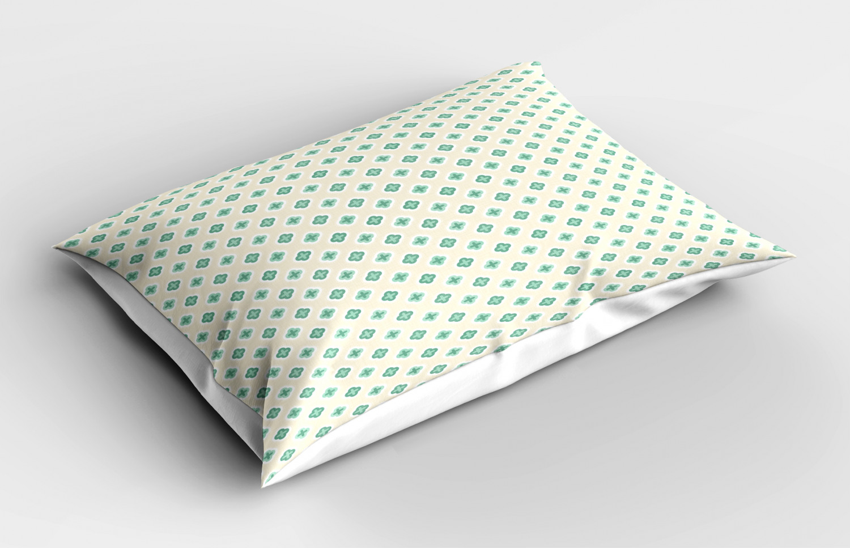 Turquoise-Pillow-Sham-Decorative-Pillowcase-3-Sizes-Bedroom-Decor-Ambesonne miniature 35