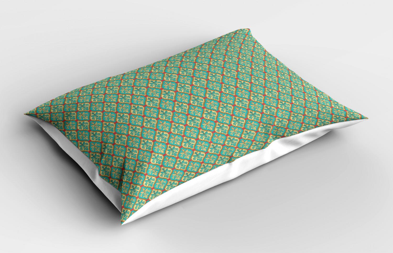 Turquoise-Pillow-Sham-Decorative-Pillowcase-3-Sizes-Bedroom-Decor-Ambesonne miniature 43