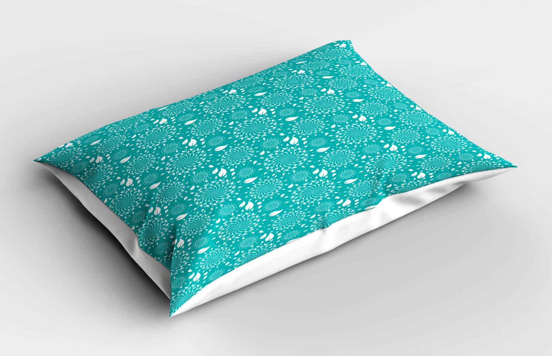Turquoise-Pillow-Sham-Decorative-Pillowcase-3-Sizes-Bedroom-Decor-Ambesonne miniature 9