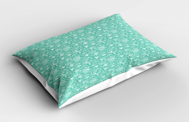Turquoise-Pillow-Sham-Decorative-Pillowcase-3-Sizes-Bedroom-Decor-Ambesonne miniature 39