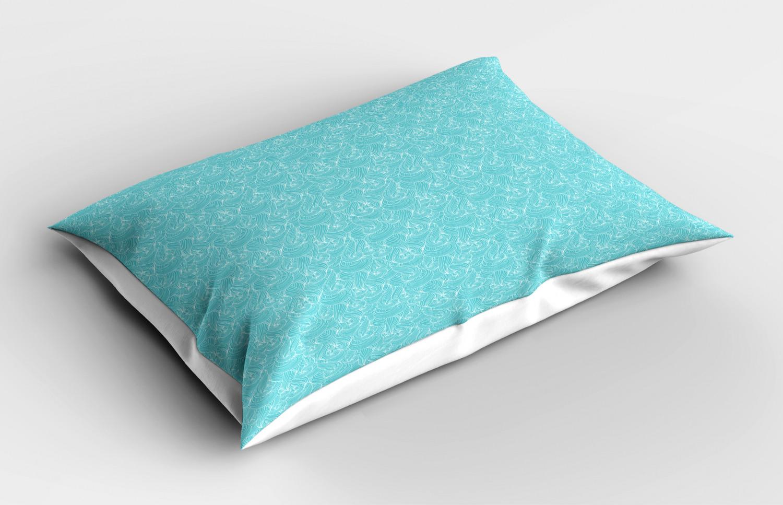 Turquoise-Pillow-Sham-Decorative-Pillowcase-3-Sizes-Bedroom-Decor-Ambesonne miniature 37