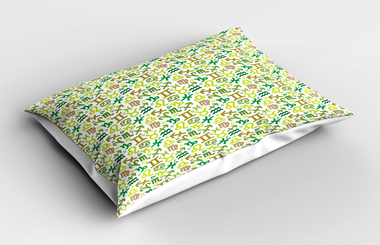 Astrology-Pillow-Sham-Decorative-Pillowcase-3-Sizes-Available-for-Bedroom-Decor miniature 56