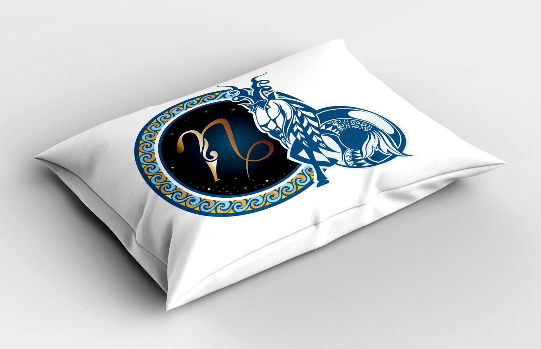 Astrology-Pillow-Sham-Decorative-Pillowcase-3-Sizes-Available-for-Bedroom-Decor miniature 16