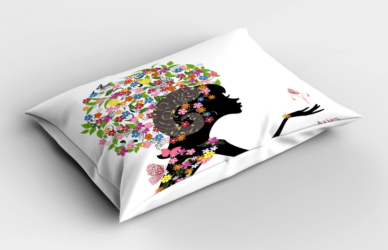 Astrology-Pillow-Sham-Decorative-Pillowcase-3-Sizes-Available-for-Bedroom-Decor miniature 10