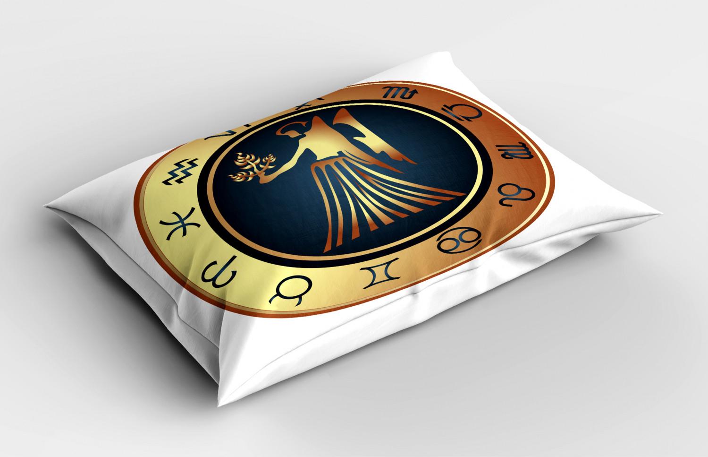 Astrology-Pillow-Sham-Decorative-Pillowcase-3-Sizes-Available-for-Bedroom-Decor miniature 48