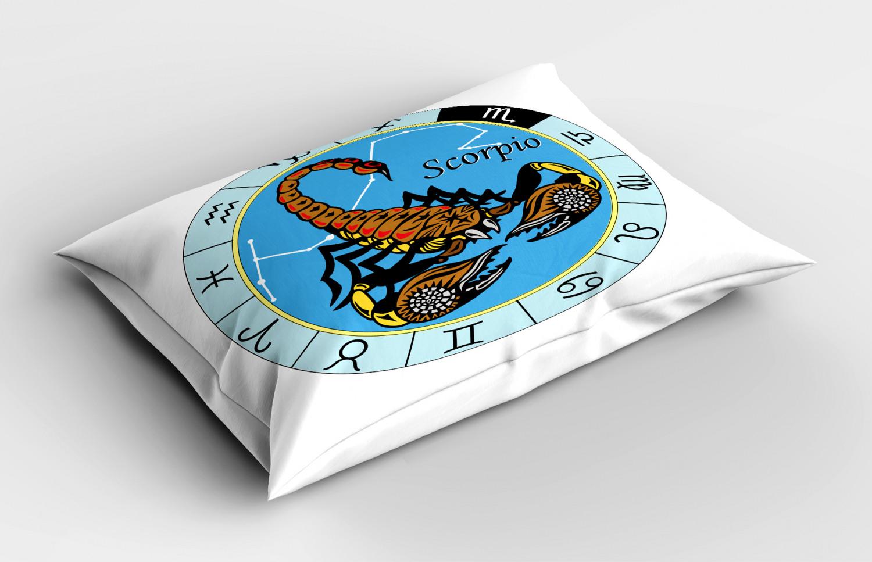 Astrology-Pillow-Sham-Decorative-Pillowcase-3-Sizes-Available-for-Bedroom-Decor miniature 36