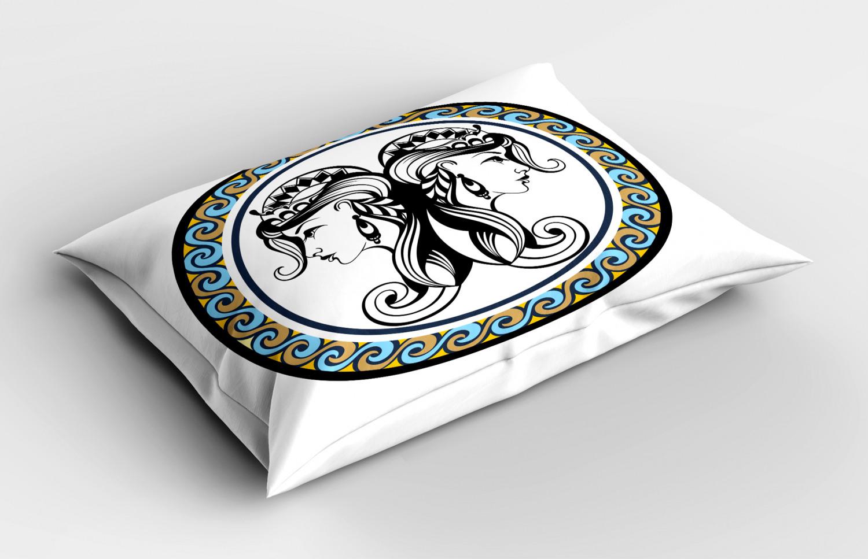 Astrology-Pillow-Sham-Decorative-Pillowcase-3-Sizes-Available-for-Bedroom-Decor miniature 30