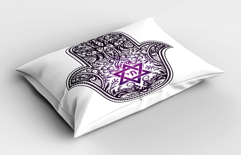 Hamsa-Pillow-Sham-Decorative-Pillowcase-3-Sizes-for-Bedroom-Decor thumbnail 36