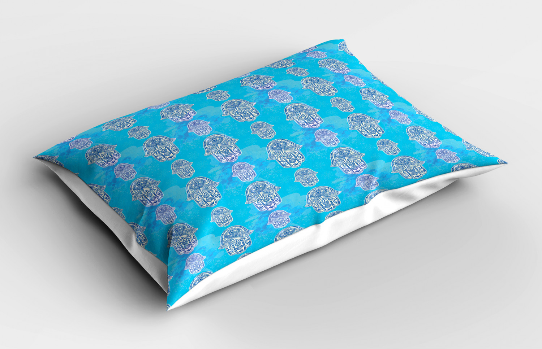 Hamsa-Pillow-Sham-Decorative-Pillowcase-3-Sizes-for-Bedroom-Decor thumbnail 14