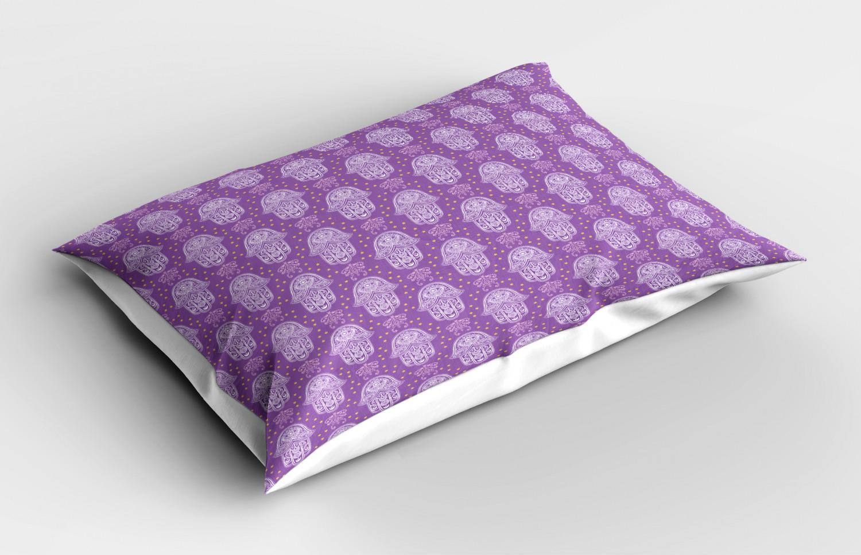Hamsa-Pillow-Sham-Decorative-Pillowcase-3-Sizes-for-Bedroom-Decor thumbnail 34