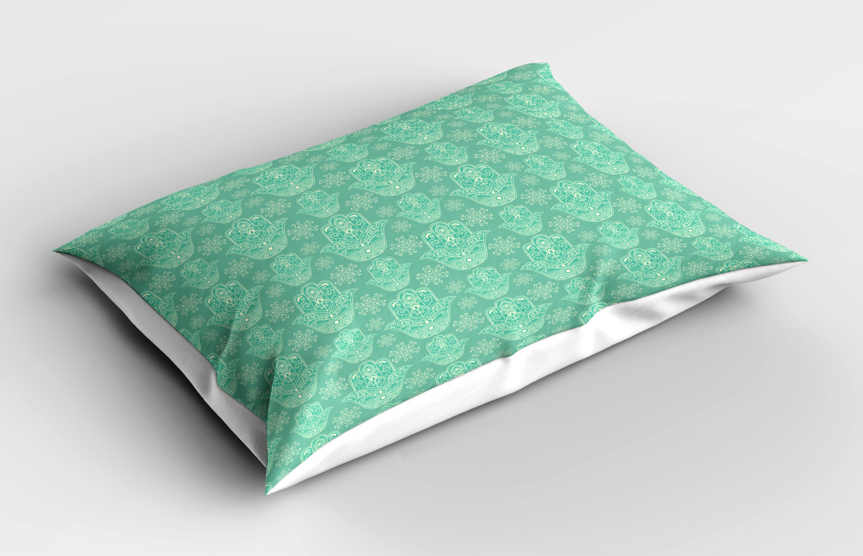 Hamsa-Pillow-Sham-Decorative-Pillowcase-3-Sizes-for-Bedroom-Decor thumbnail 10