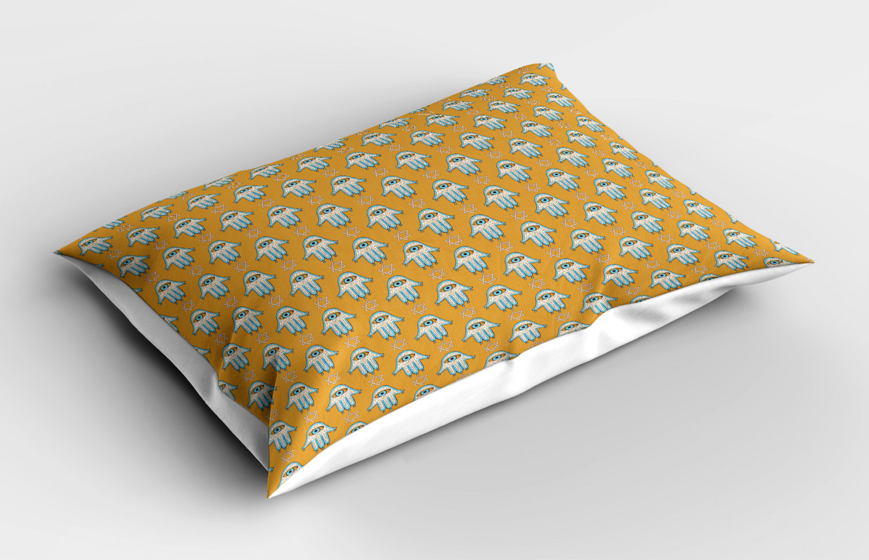 Hamsa-Pillow-Sham-Decorative-Pillowcase-3-Sizes-for-Bedroom-Decor thumbnail 32
