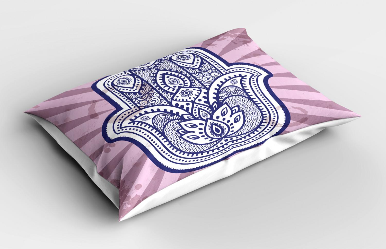 Hamsa-Pillow-Sham-Decorative-Pillowcase-3-Sizes-for-Bedroom-Decor thumbnail 42
