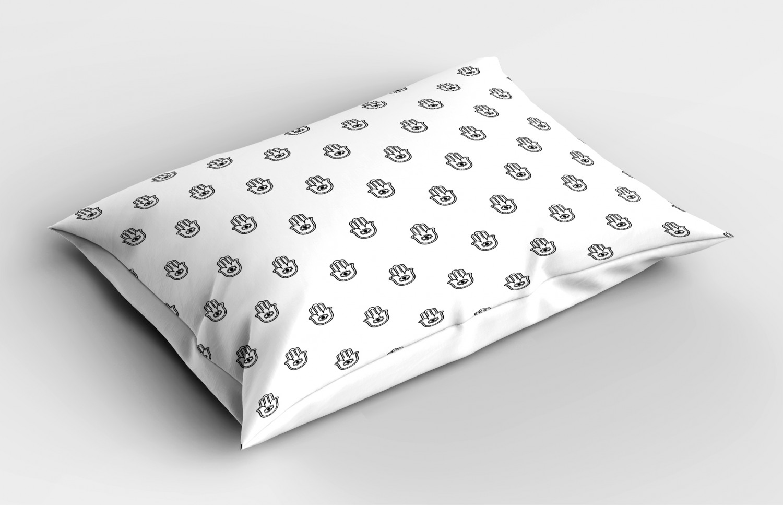 Hamsa-Pillow-Sham-Decorative-Pillowcase-3-Sizes-for-Bedroom-Decor thumbnail 22