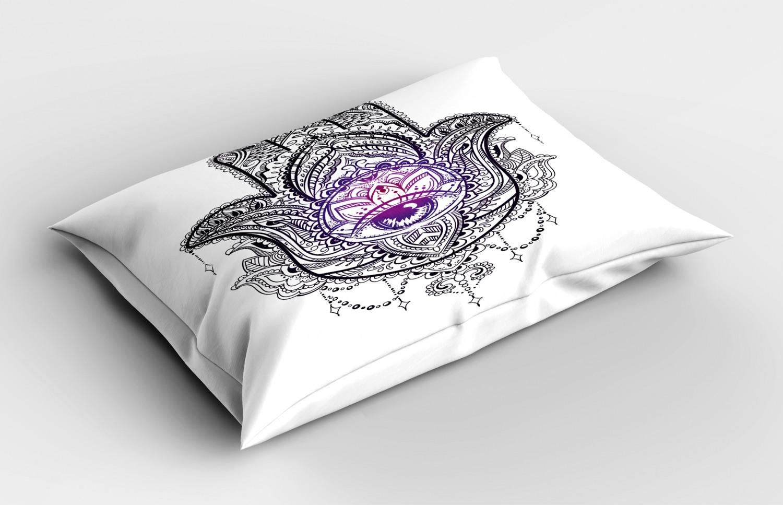 Hamsa-Pillow-Sham-Decorative-Pillowcase-3-Sizes-for-Bedroom-Decor thumbnail 40