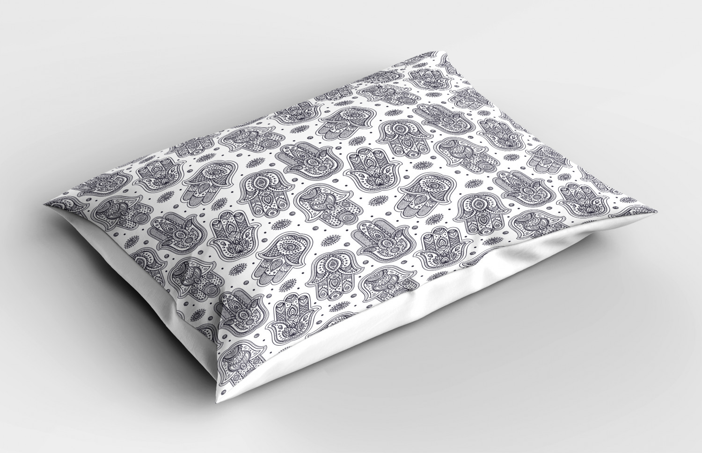 Hamsa-Pillow-Sham-Decorative-Pillowcase-3-Sizes-for-Bedroom-Decor thumbnail 24