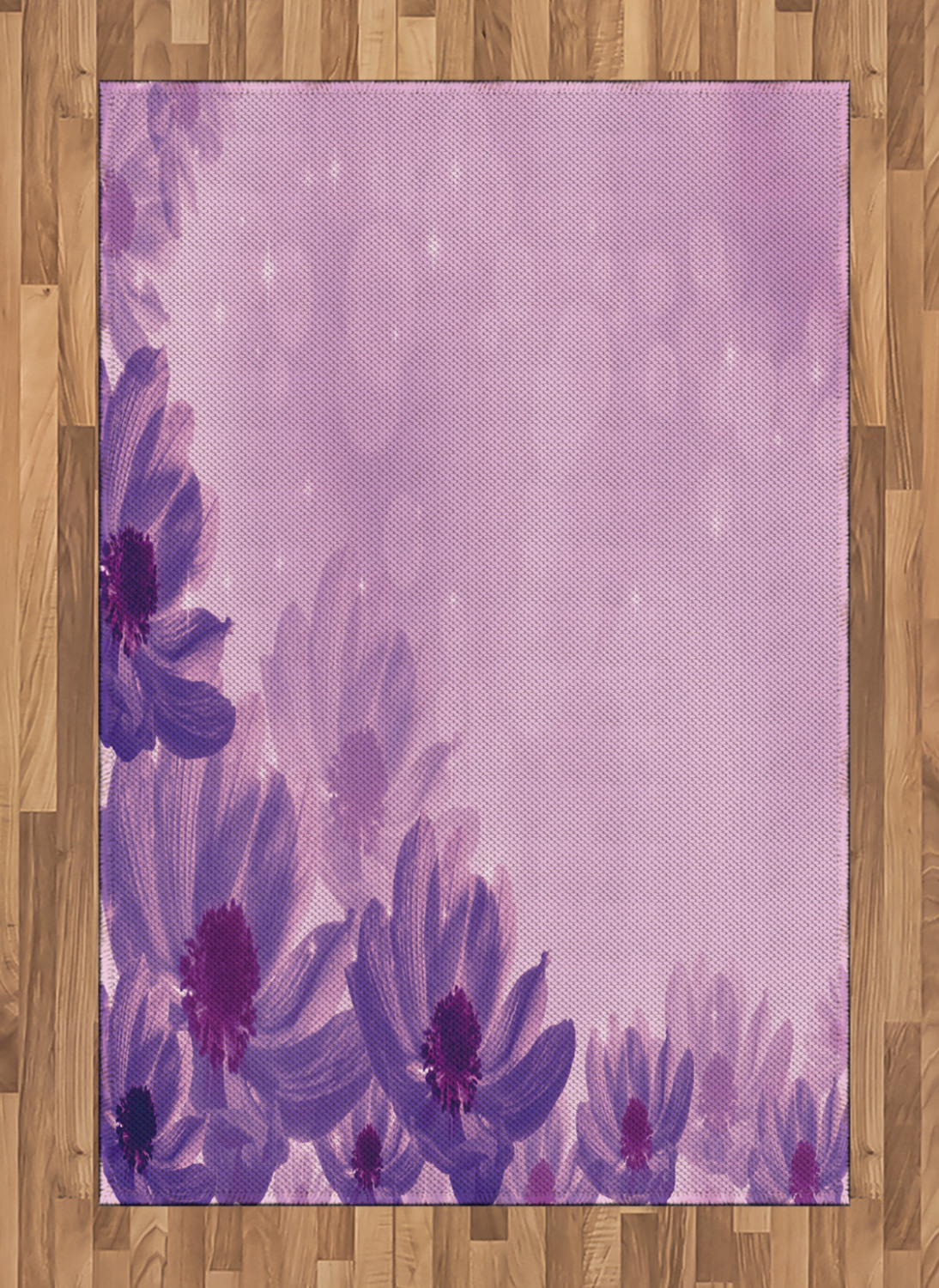 Anemone-Flower-Area-Rug-Decor-Flat-Woven-Accent-Rug-Home-Decor-2-Sizes-Ambesonne thumbnail 15