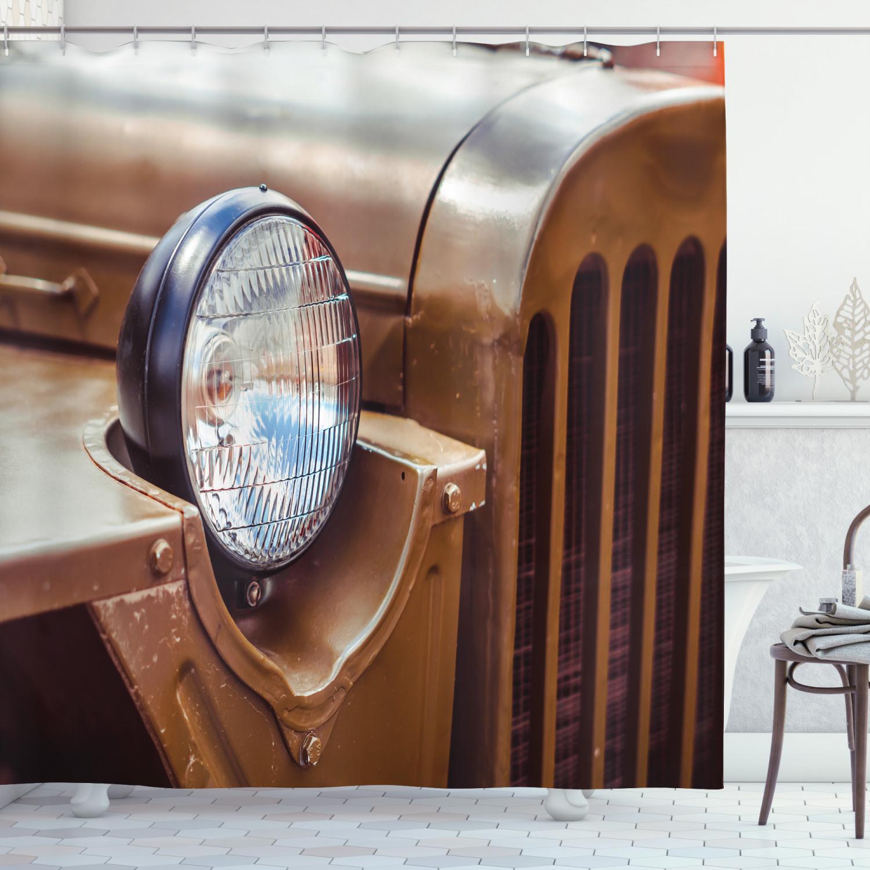 Vintage Trucks Duschvorhang Antique Automotive