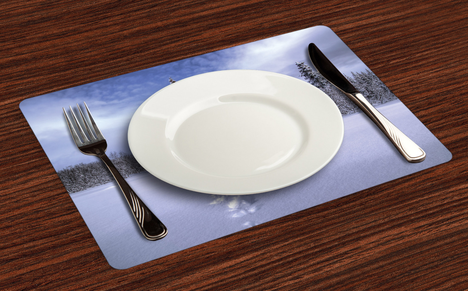 Ambesonne-Fabric-Place-Mats-Set-of-4-Placemats-for-Dining-Room-and-Kitchen-Table thumbnail 205