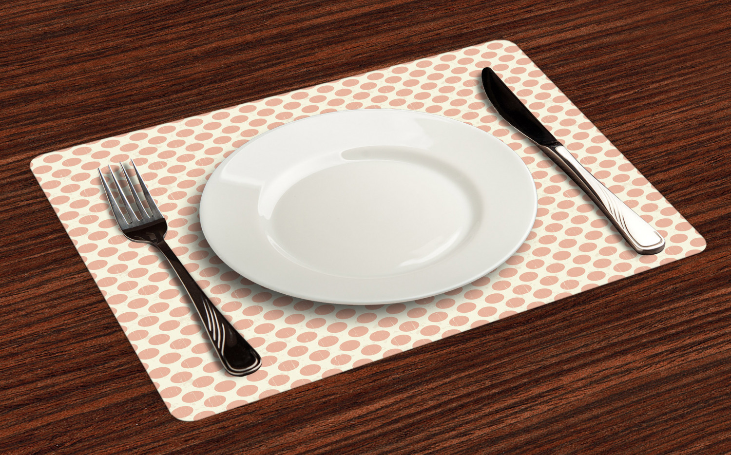 Ambesonne-Fabric-Place-Mats-Set-of-4-Placemats-for-Dining-Room-and-Kitchen-Table thumbnail 97