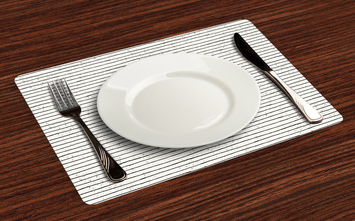 Ambesonne-Fabric-Place-Mats-Set-of-4-Placemats-for-Dining-Room-and-Kitchen-Table thumbnail 113