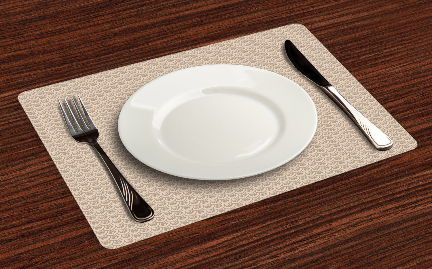 Ambesonne-Fabric-Place-Mats-Set-of-4-Placemats-for-Dining-Room-and-Kitchen-Table thumbnail 37