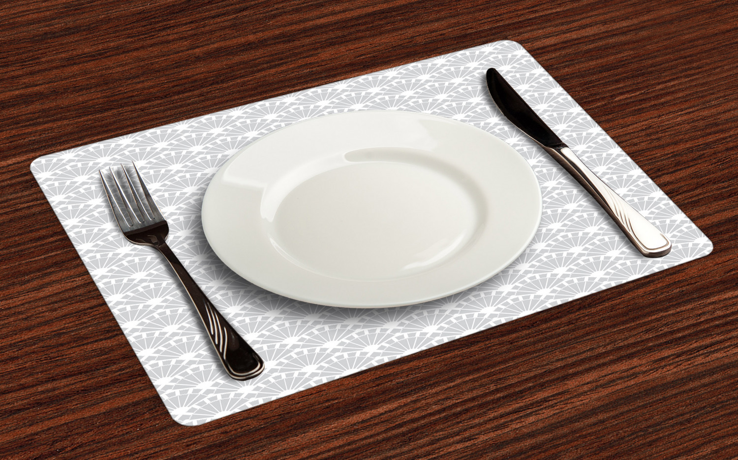 Ambesonne-Fabric-Place-Mats-Set-of-4-Placemats-for-Dining-Room-and-Kitchen-Table thumbnail 5