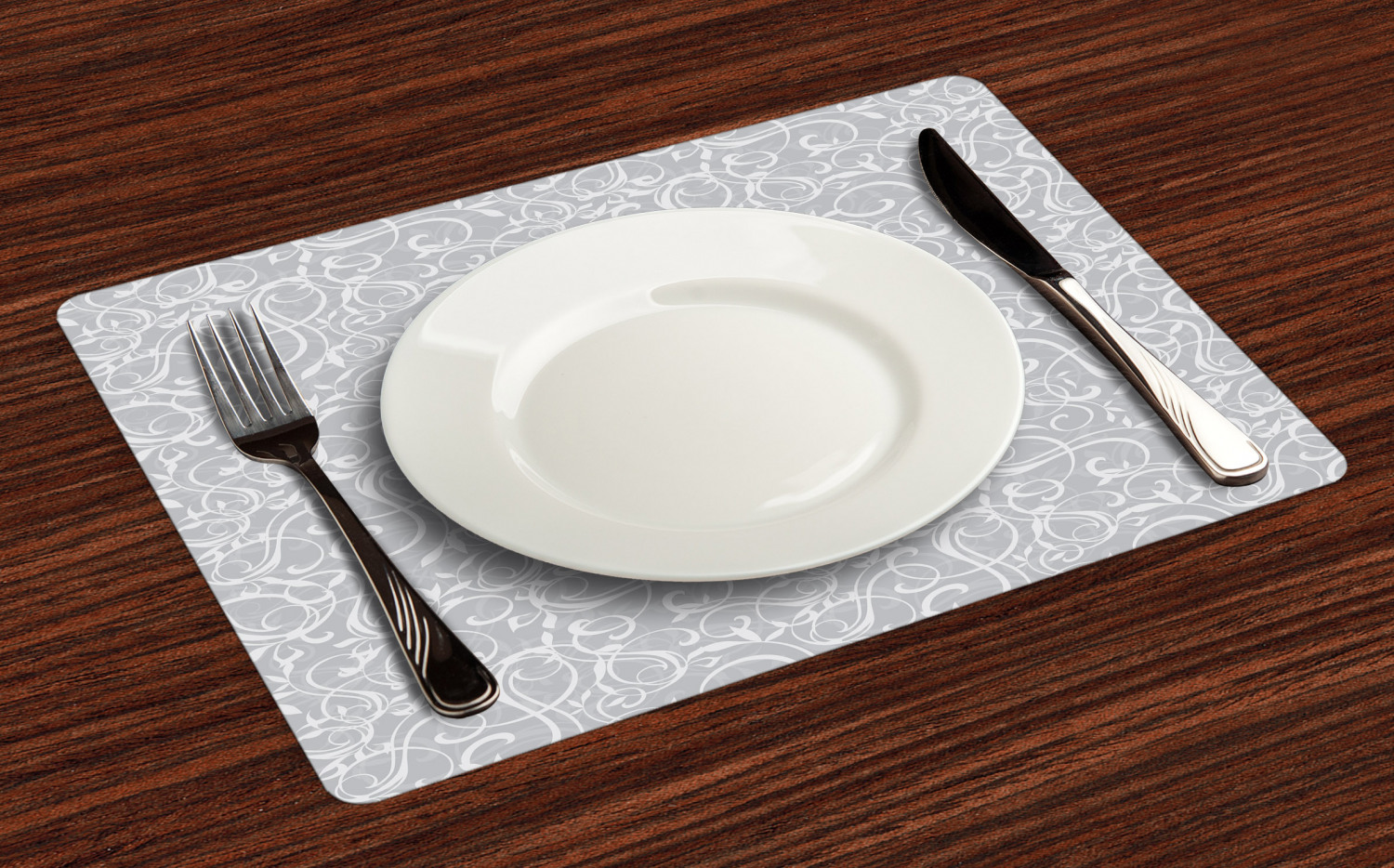 Ambesonne-Fabric-Place-Mats-Set-of-4-Placemats-for-Dining-Room-and-Kitchen-Table thumbnail 209