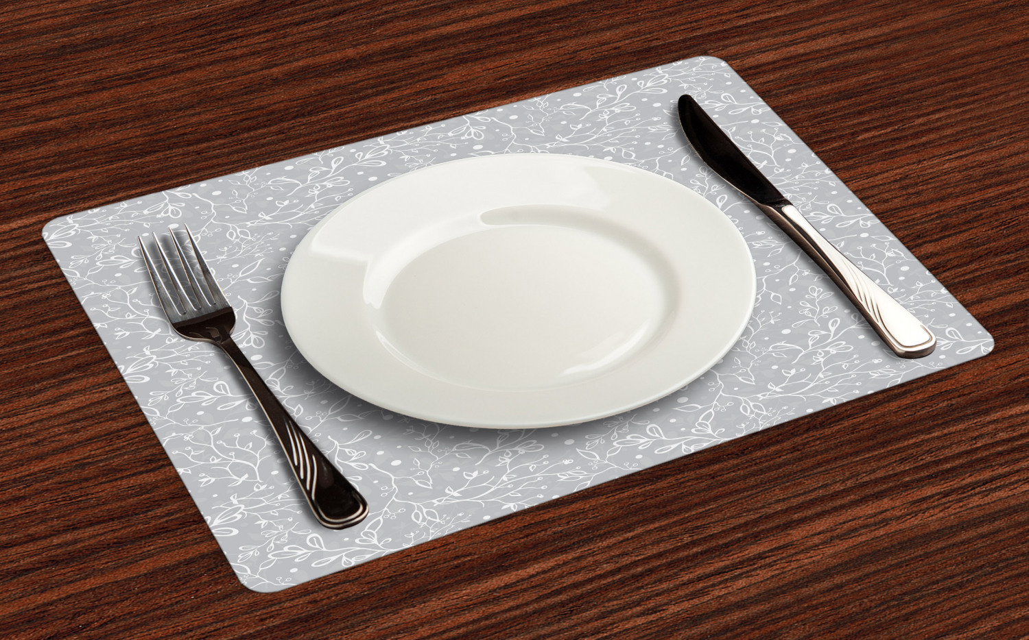 Ambesonne-Fabric-Place-Mats-Set-of-4-Placemats-for-Dining-Room-and-Kitchen-Table thumbnail 121