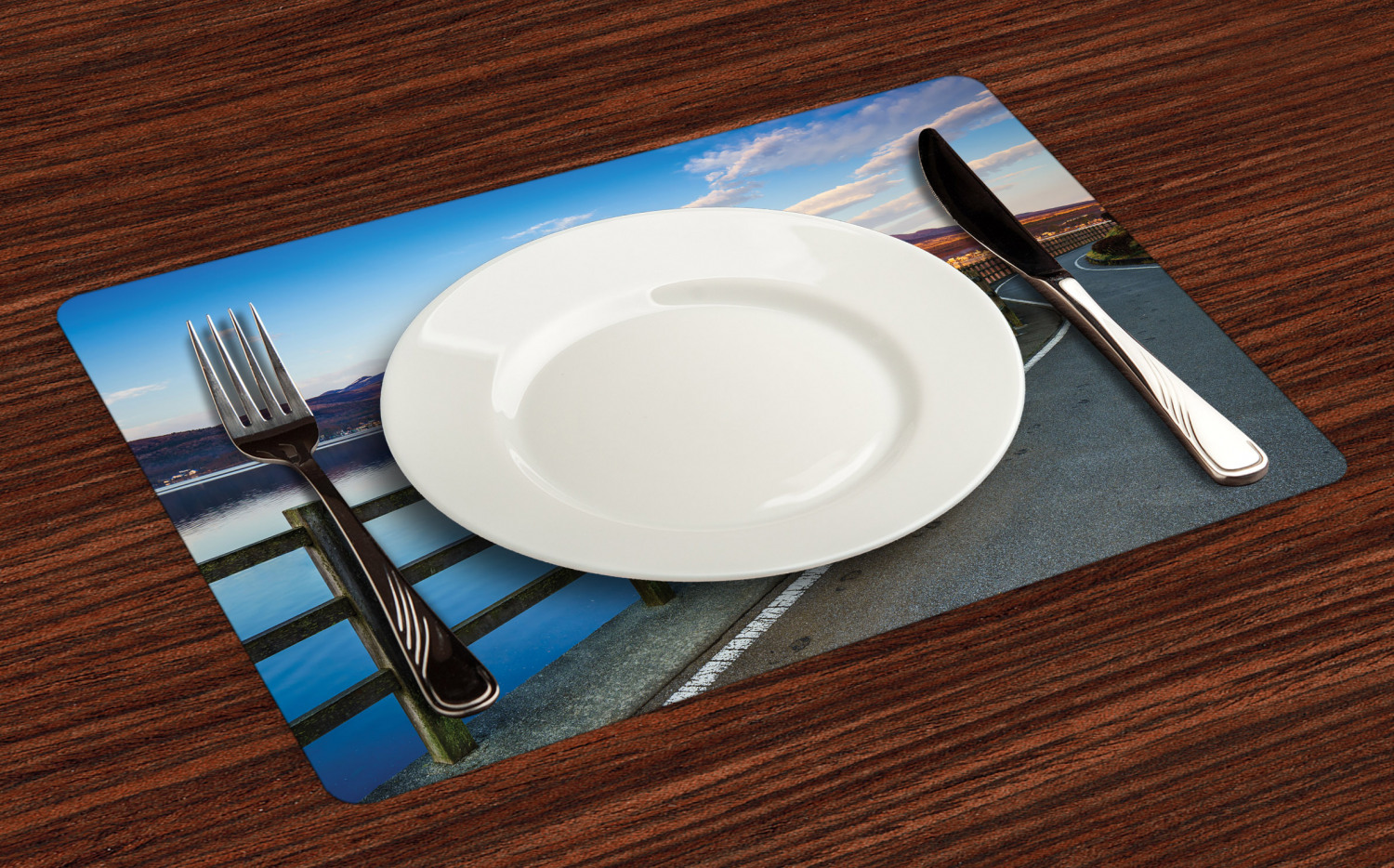 Ambesonne-Fabric-Place-Mats-Set-of-4-Placemats-for-Dining-Room-and-Kitchen-Table thumbnail 181
