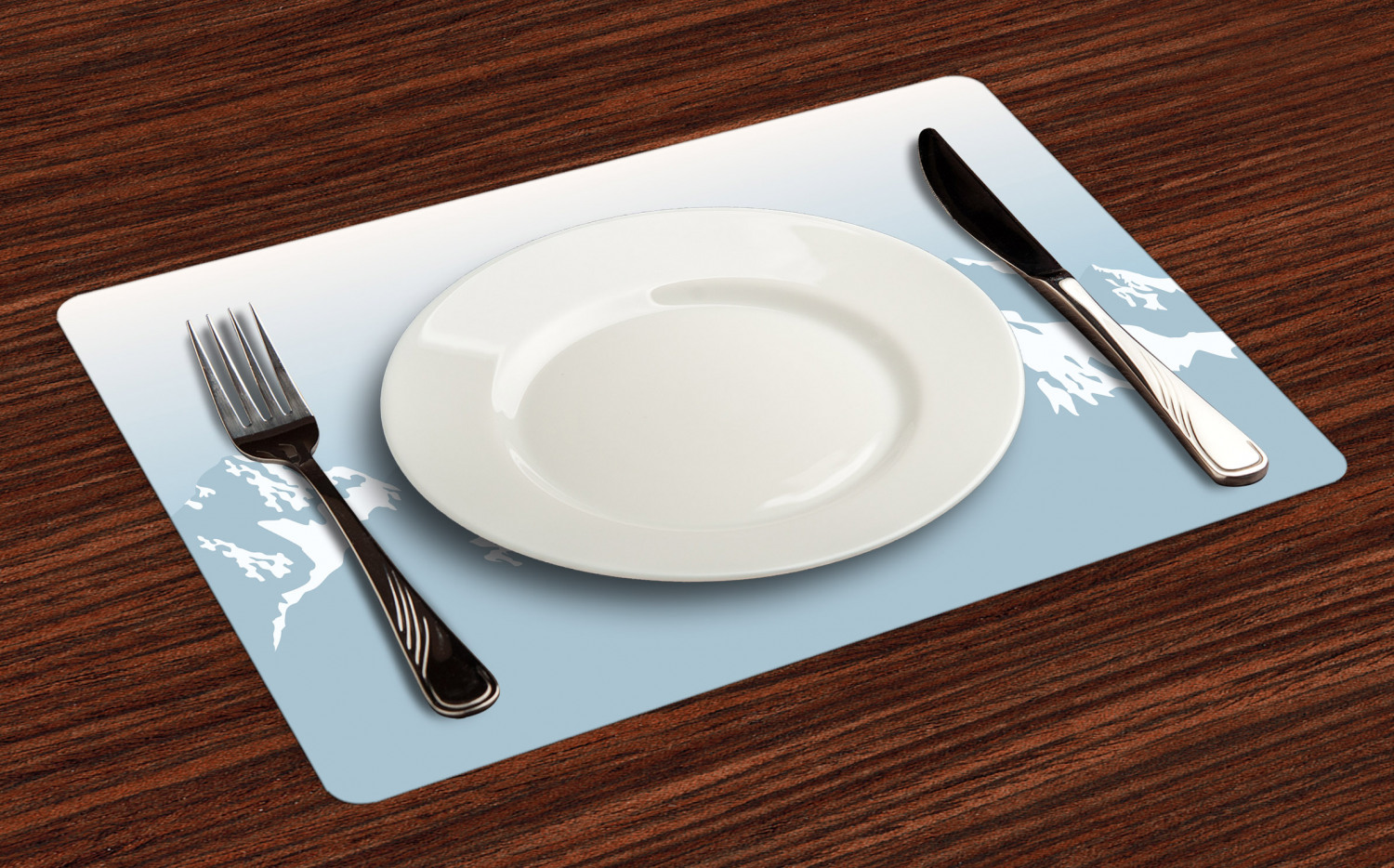 Ambesonne-Fabric-Place-Mats-Set-of-4-Placemats-for-Dining-Room-and-Kitchen-Table thumbnail 141