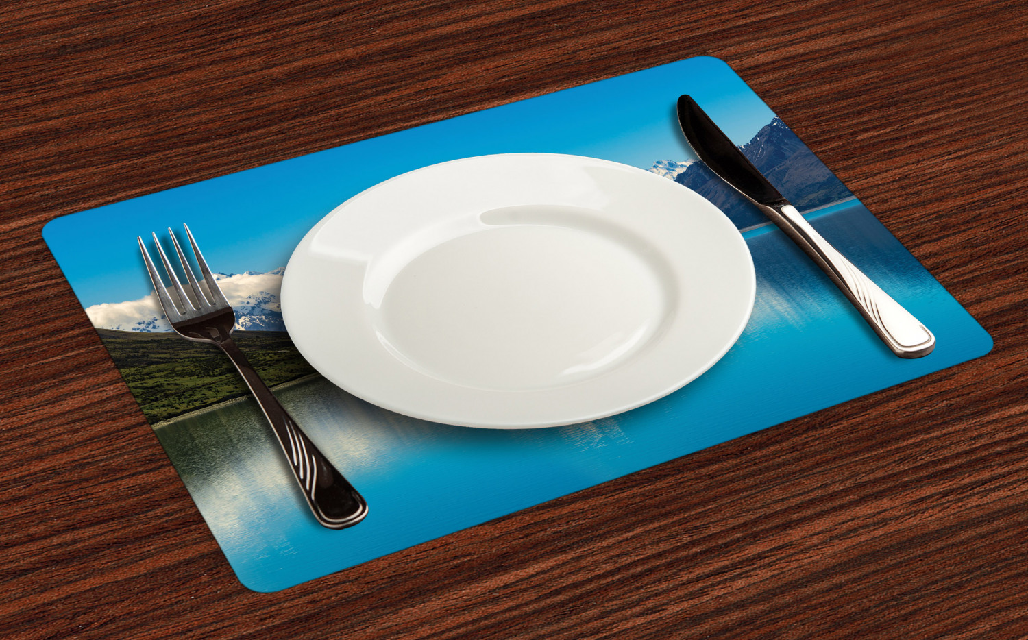 Ambesonne-Fabric-Place-Mats-Set-of-4-Placemats-for-Dining-Room-and-Kitchen-Table thumbnail 129