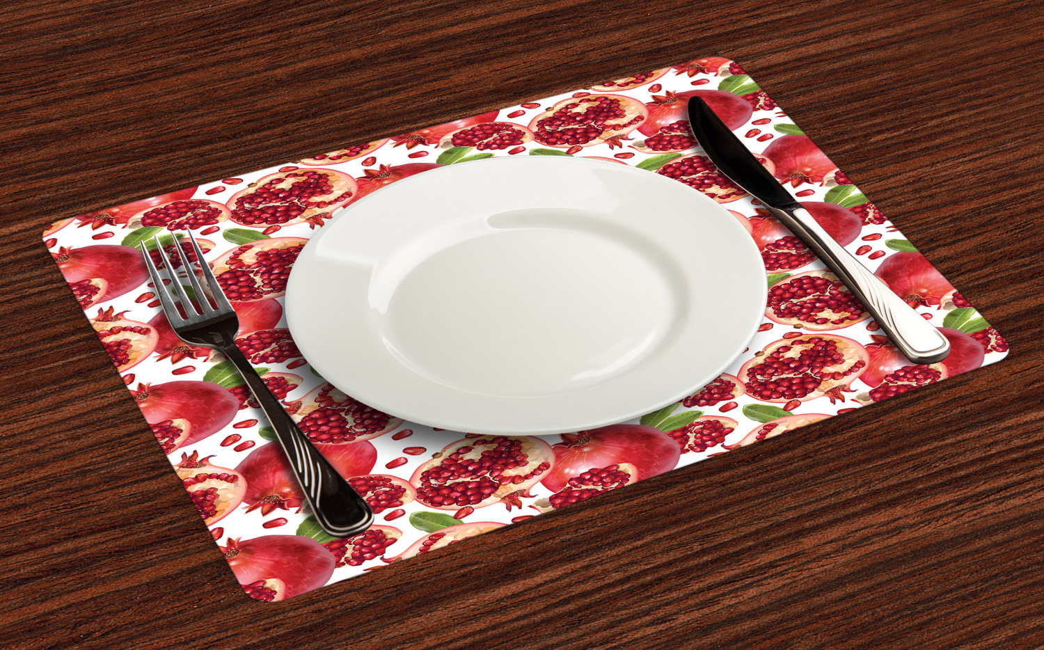 Ambesonne-Fabric-Place-Mats-Set-of-4-Placemats-for-Dining-Room-and-Kitchen-Table thumbnail 73