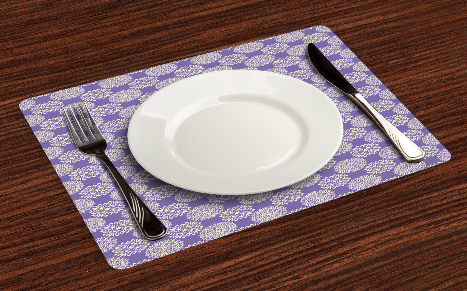 Ambesonne-Flower-Pattern-Placemat-Set-of-4-Fabric-Place-Mats-for-Table-Decor thumbnail 197