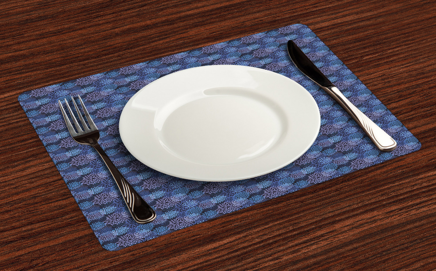 Ambesonne-Flower-Pattern-Placemat-Set-of-4-Fabric-Place-Mats-for-Table-Decor thumbnail 237