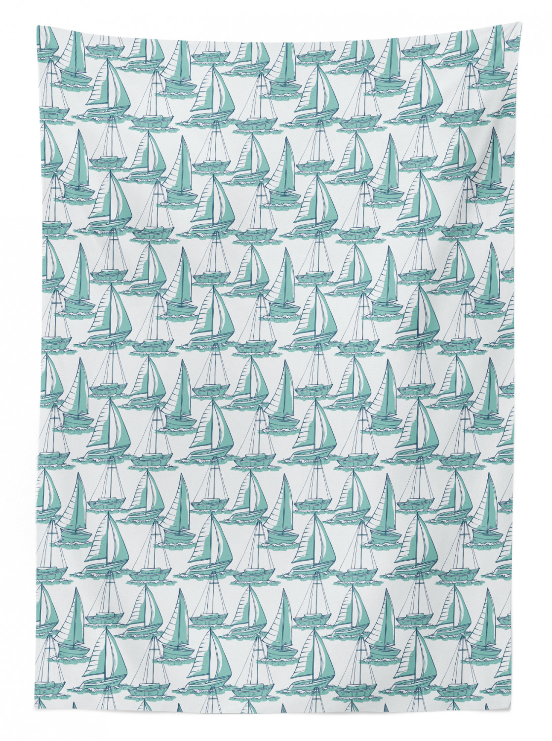 thumbnail 107 - Ambesonne Marine Pattern Tablecloth Table Cover for Dining Room Kitchen