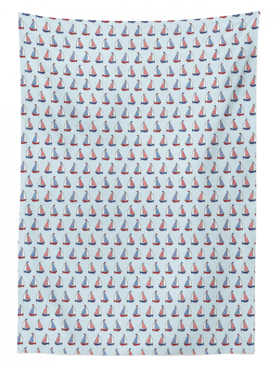 thumbnail 14 - Ambesonne Marine Pattern Tablecloth Table Cover for Dining Room Kitchen