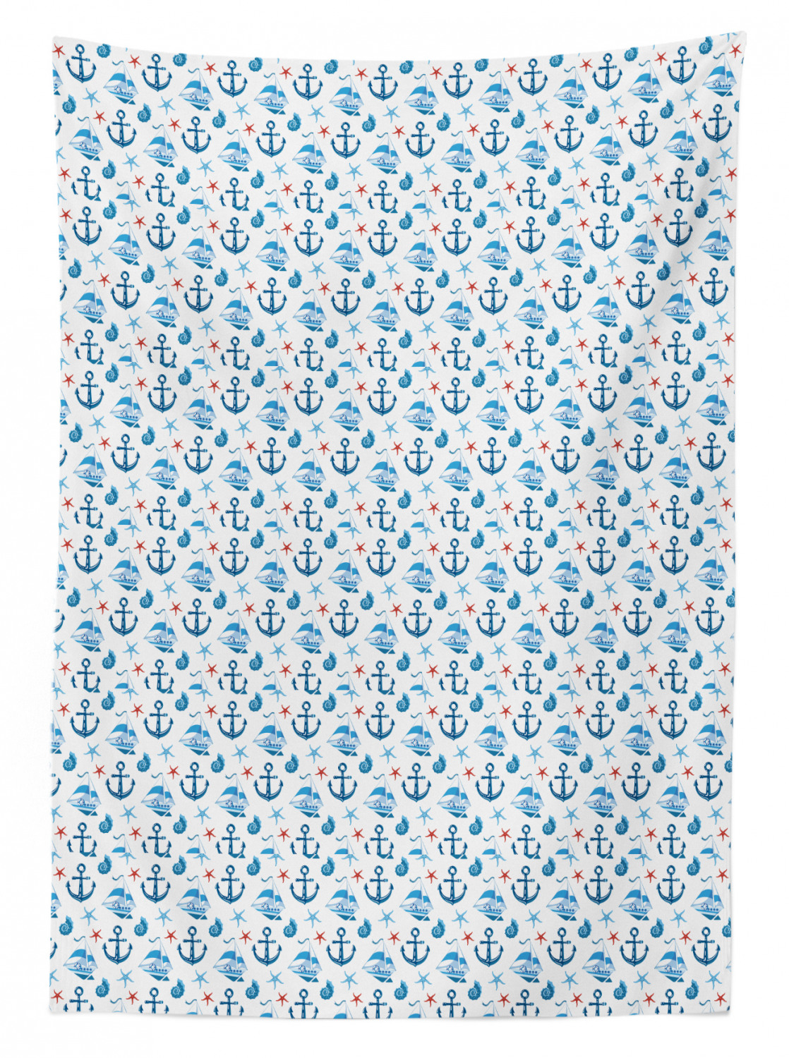 thumbnail 125 - Ambesonne Marine Pattern Tablecloth Table Cover for Dining Room Kitchen