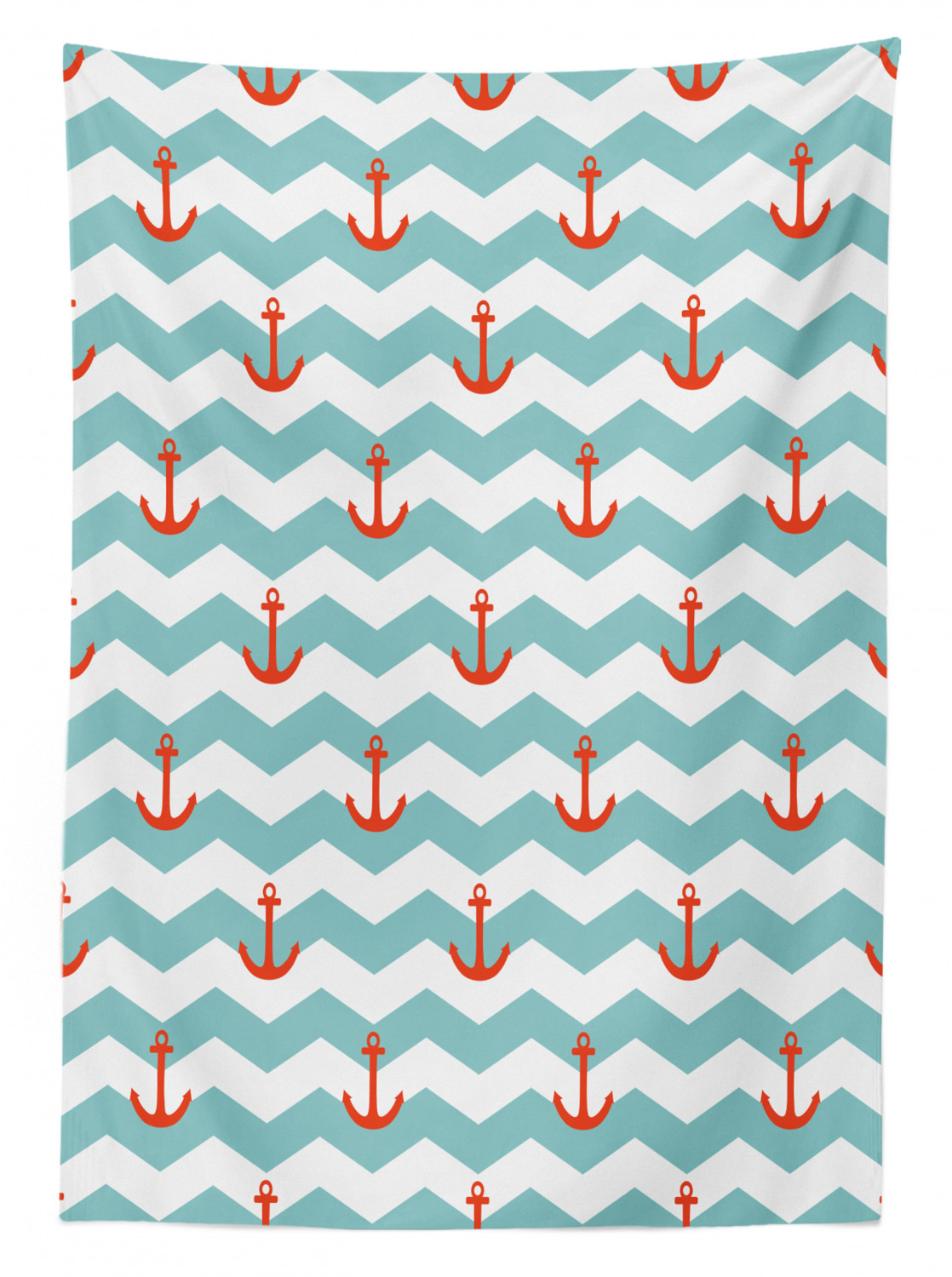 thumbnail 104 - Ambesonne Marine Pattern Tablecloth Table Cover for Dining Room Kitchen