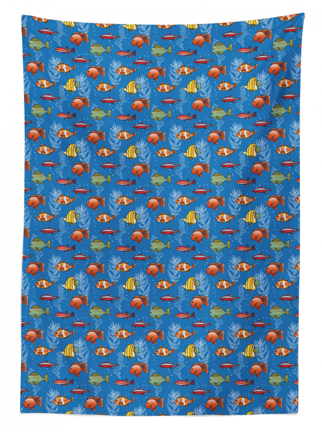 thumbnail 23 - Ambesonne Marine Pattern Tablecloth Table Cover for Dining Room Kitchen