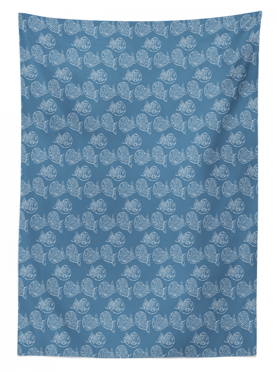 thumbnail 95 - Ambesonne Marine Pattern Tablecloth Table Cover for Dining Room Kitchen