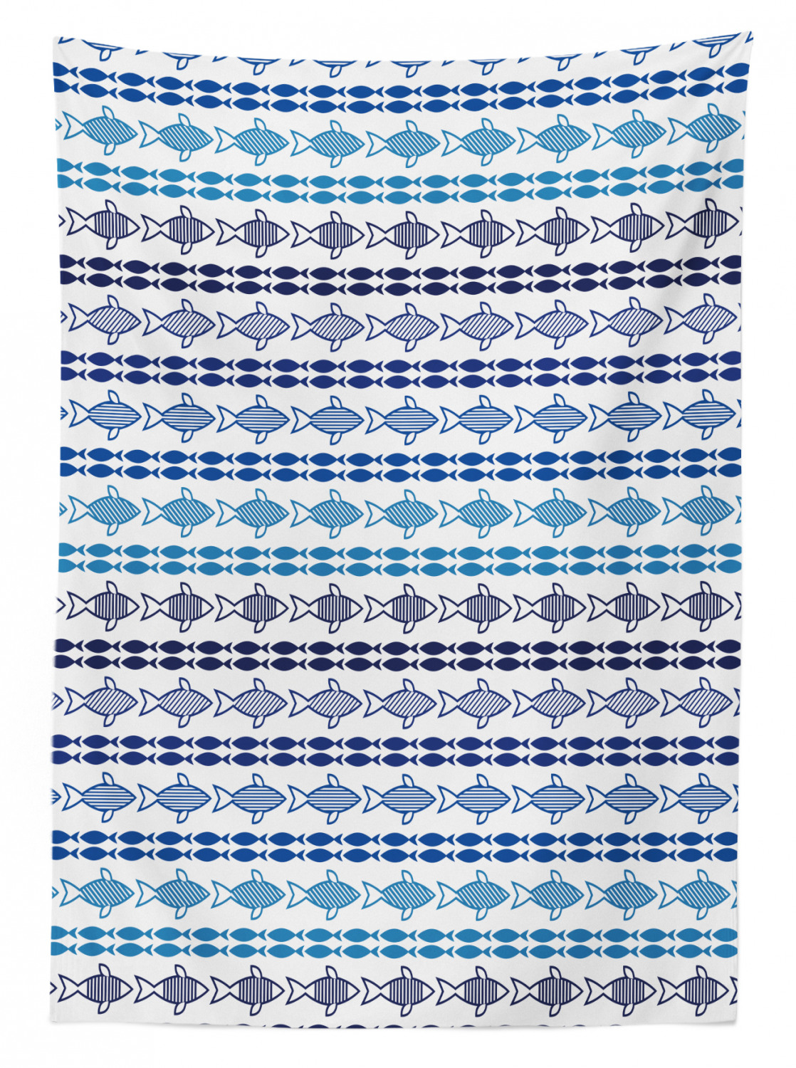 thumbnail 44 - Ambesonne Marine Pattern Tablecloth Table Cover for Dining Room Kitchen