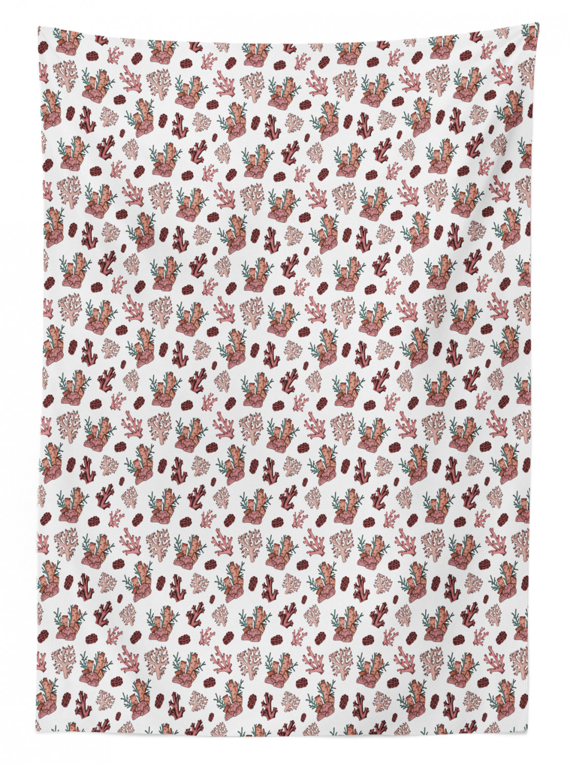 thumbnail 83 - Ambesonne Marine Pattern Tablecloth Table Cover for Dining Room Kitchen